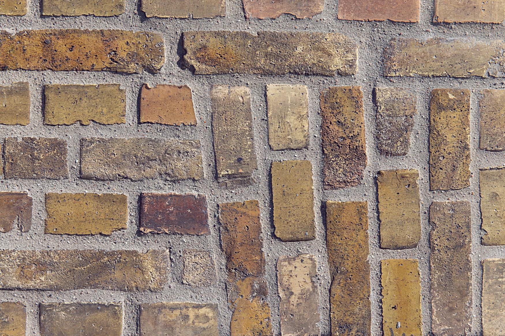 Detalje fra facaderenovering i Hvidovre
