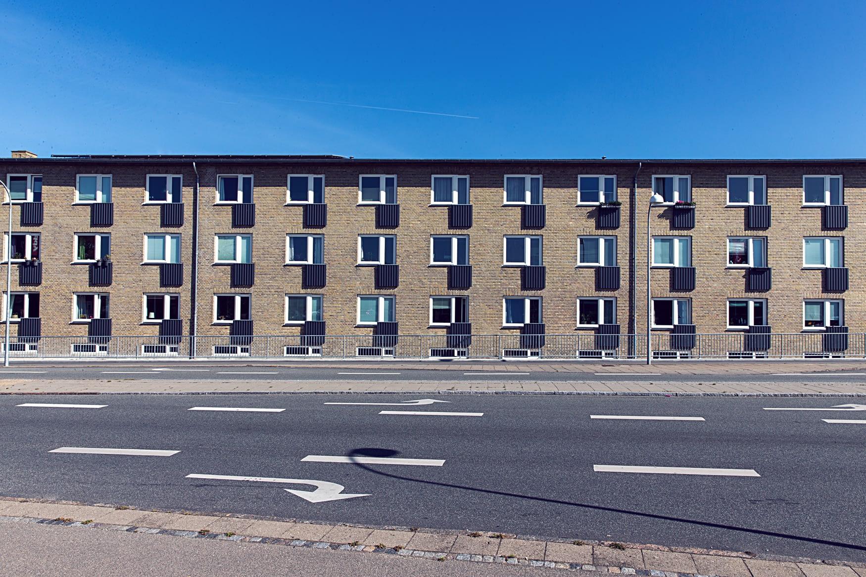 Facaderenovering i Hvidovre
