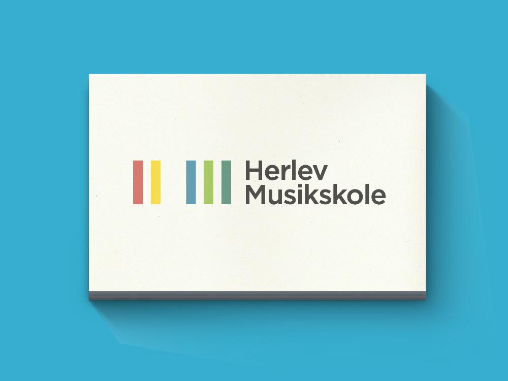 Visuel identitet og webdesign til Herlev Musikskole