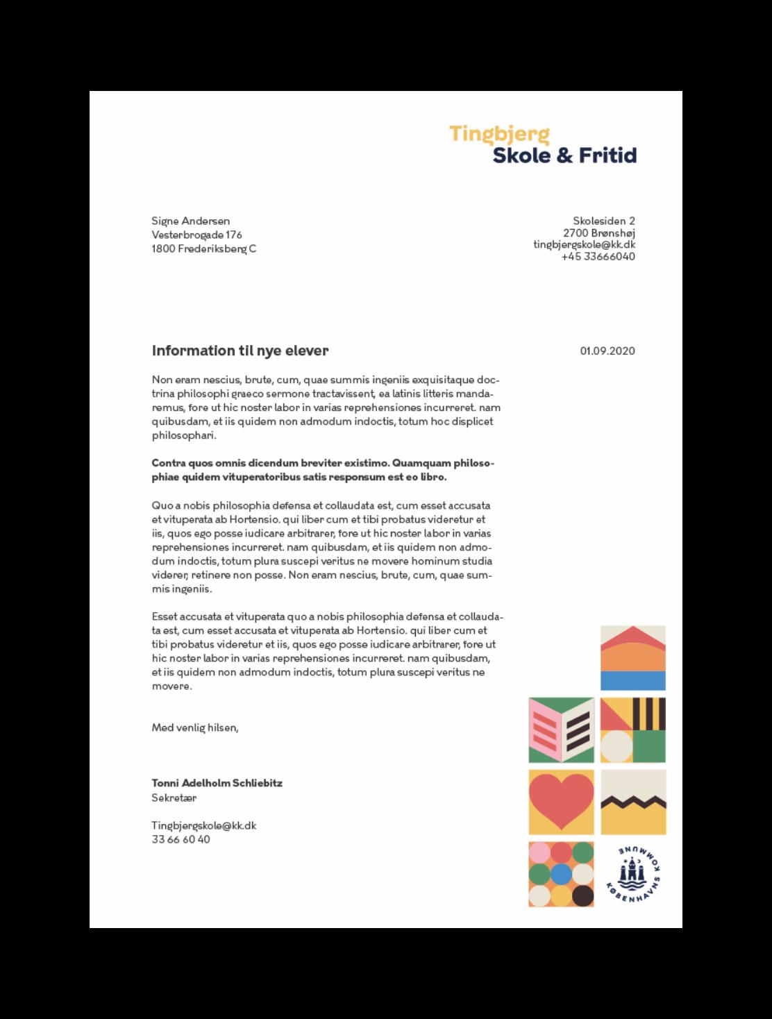 Tingbjerg brev