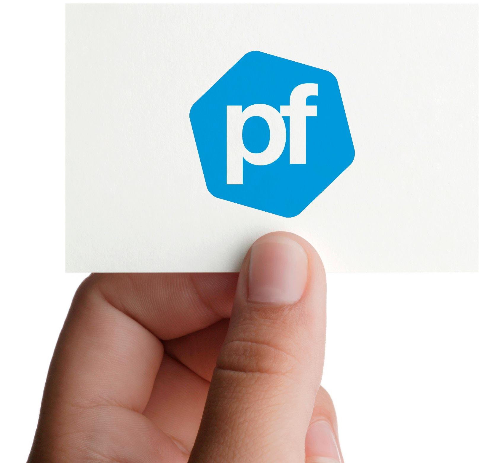 Logodesign som del af designmanual til Polyteknisk Forening
