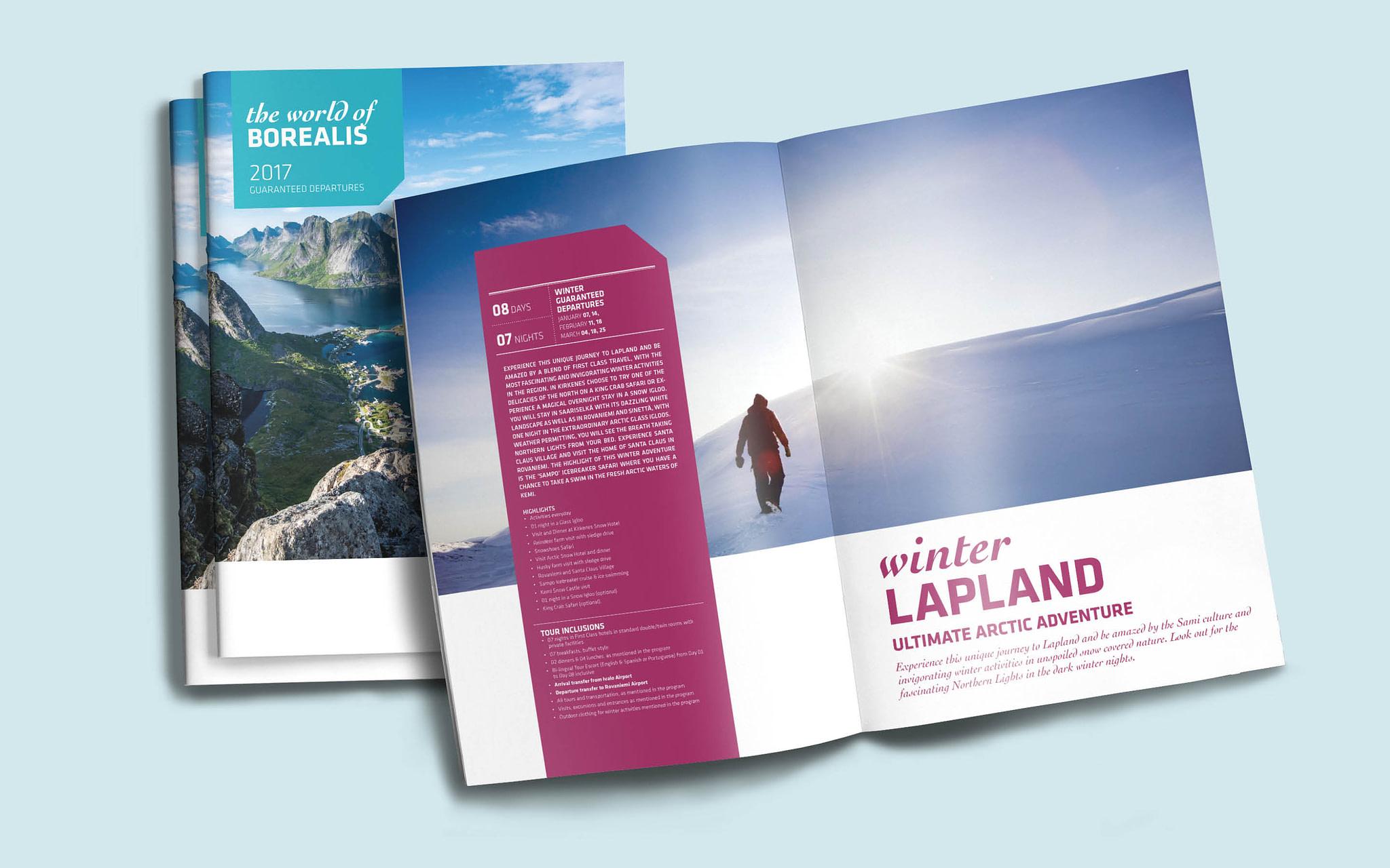 Brochure for Borealis