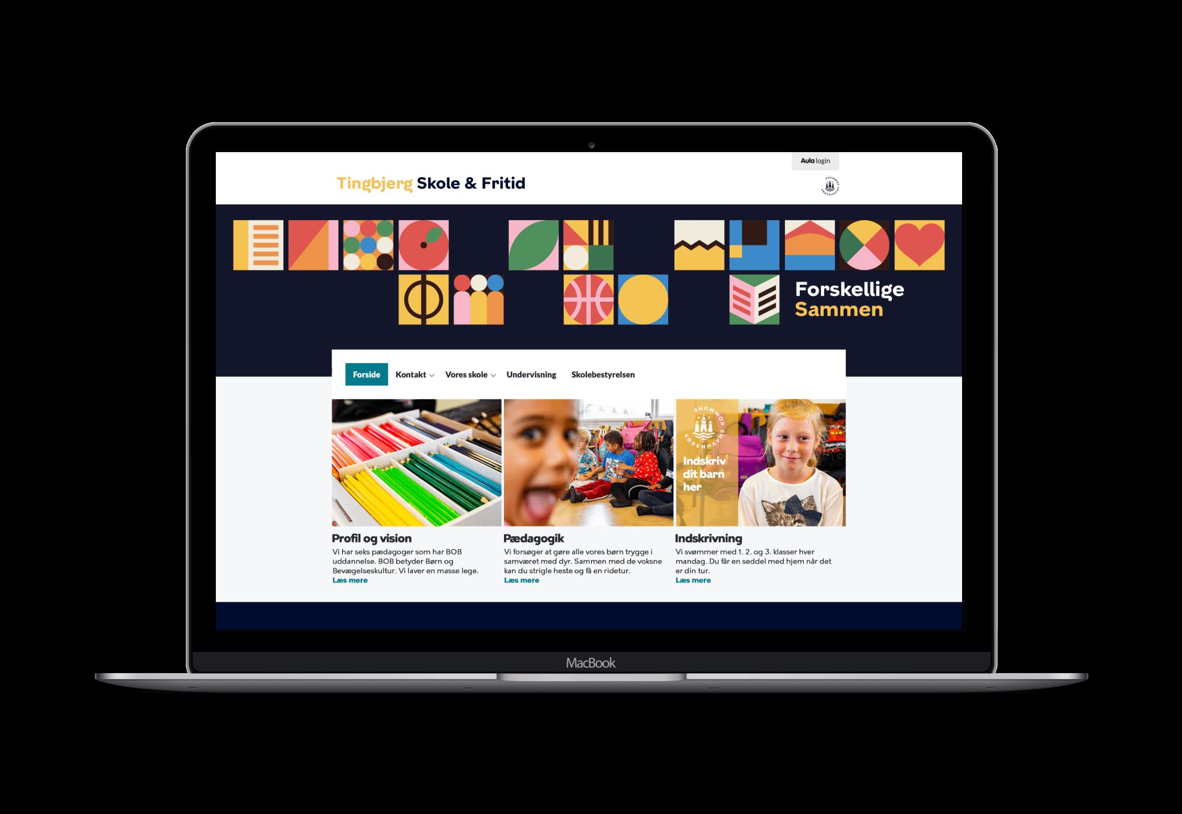 Webdesign til Tingbjerg