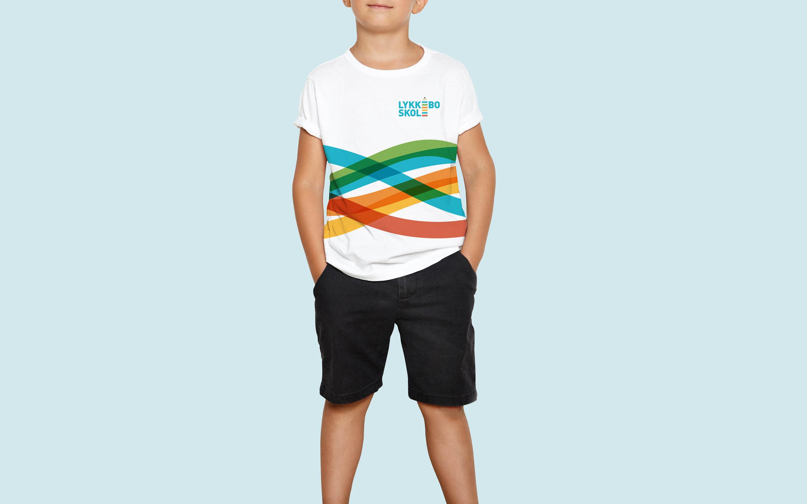 T-shirt til Lykkebo Skole