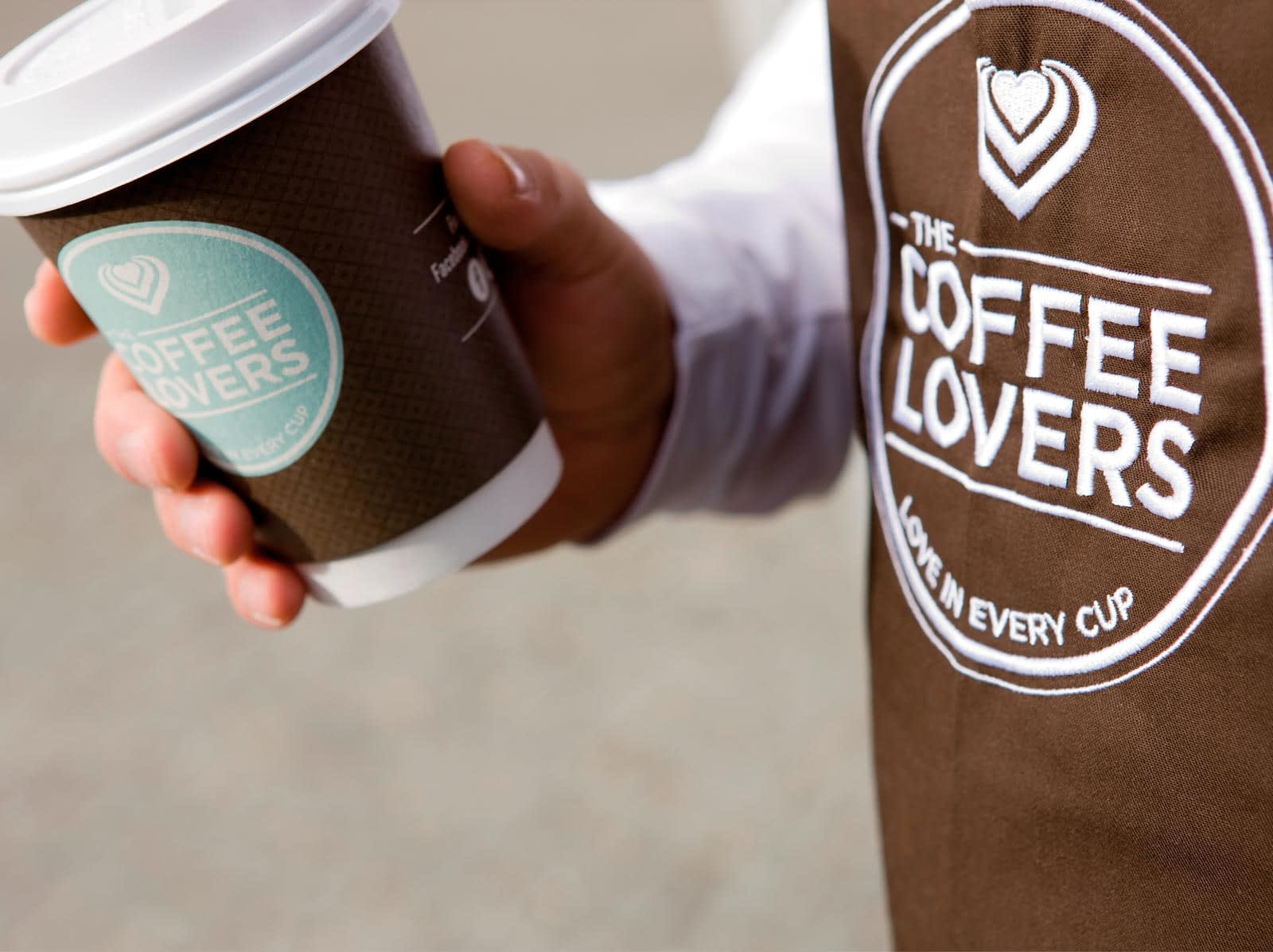 Logodesign til Coffee Lovers