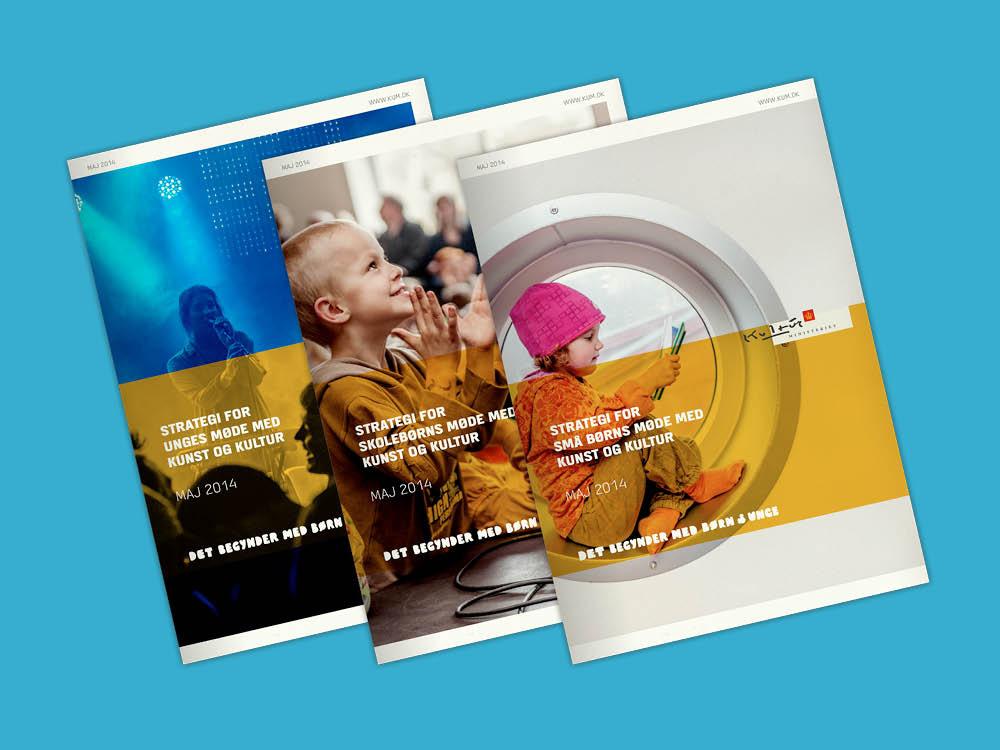 Brochurer til Kulturministeriet