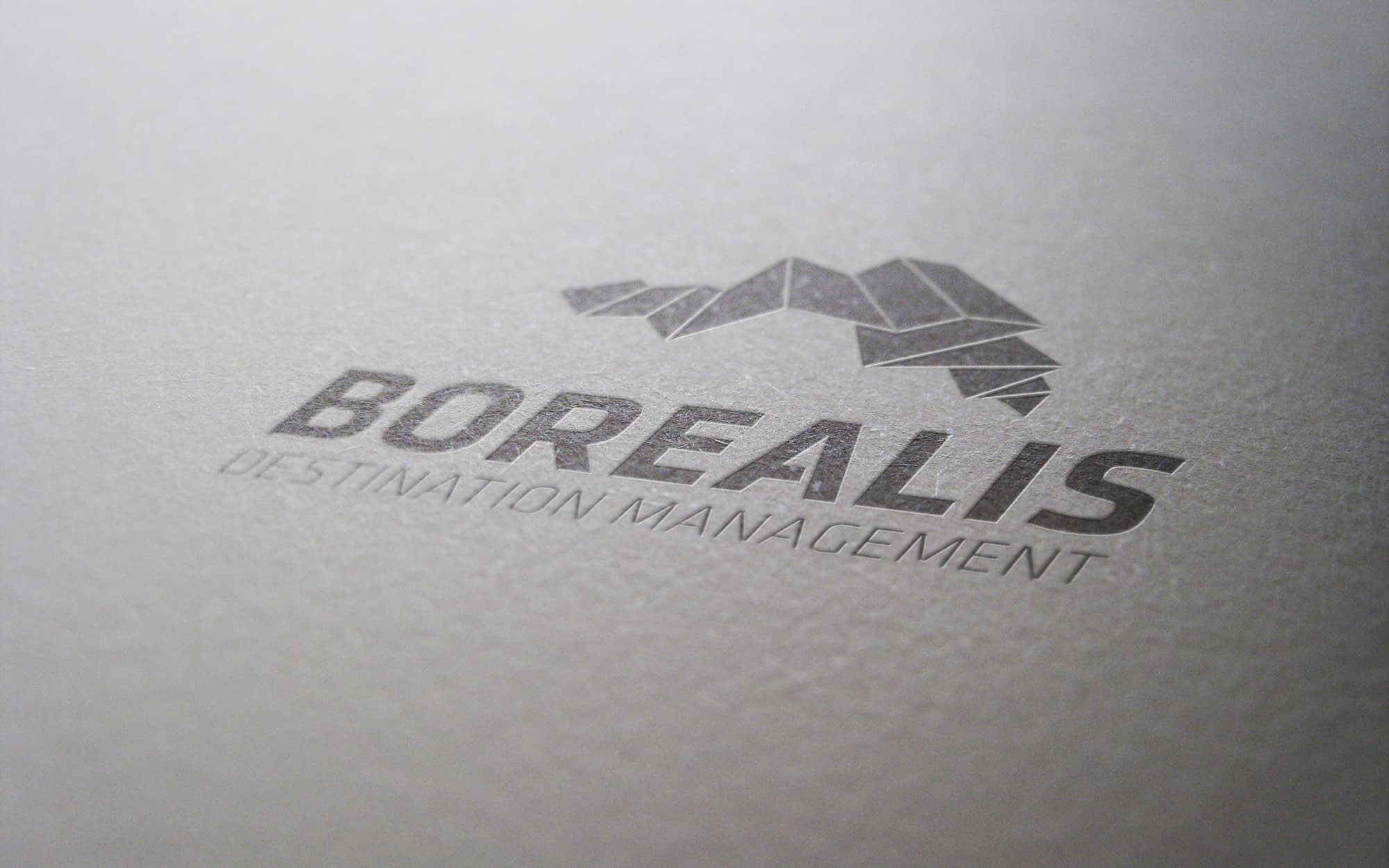 Logodesign som del af visuel identitet til Borealis